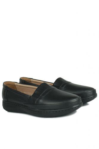 Fitbas - Fitbas 155004 014 Kadın Siyah Günlük Büyük Numara Ayakkabı (1)