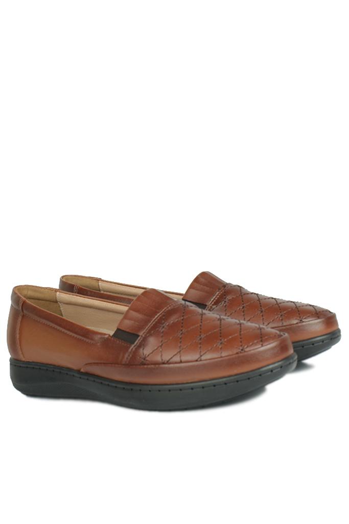 Fitbas 155008 167 Kadın Taba Günlük Büyük Numara Ayakkabı