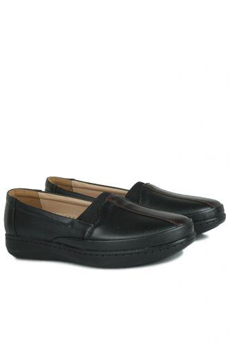 Fitbas - Fitbas 155025 014 Kadın Siyah Günlük Büyük Numara Ayakkabı (1)