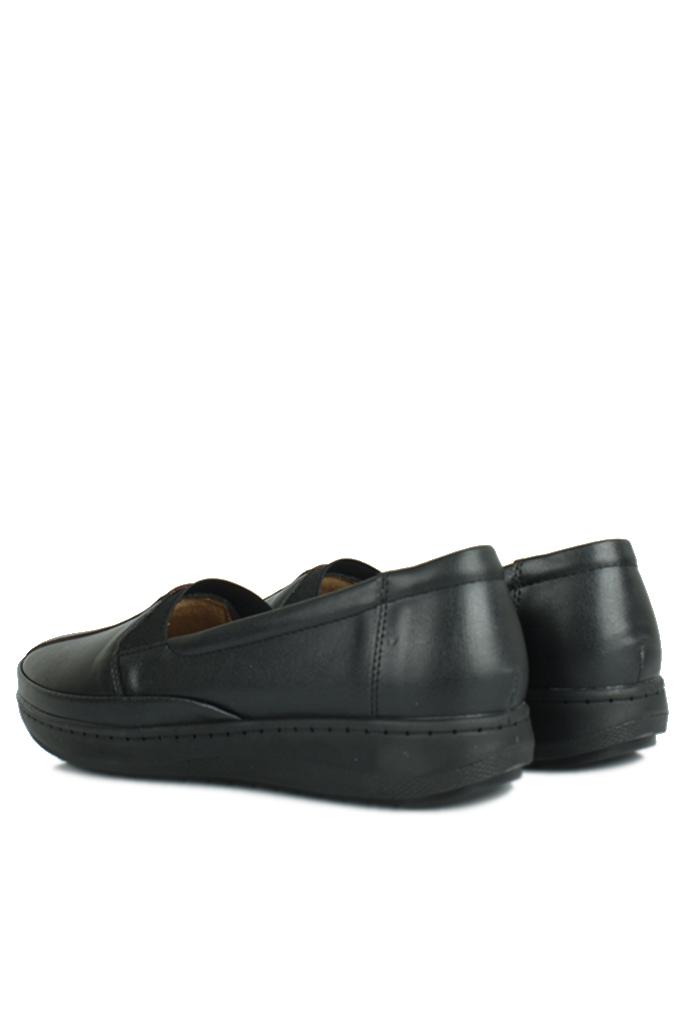 Fitbas 155025 014 Kadın Siyah Günlük Büyük Numara Ayakkabı