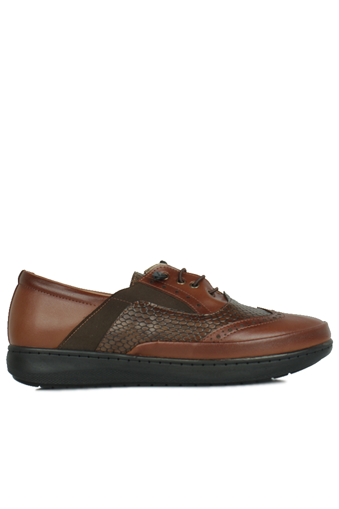 Fitbas 155028 167 Kadın Taba Günlük Büyük Numara Ayakkabı