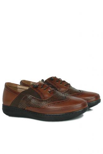 Fitbas - Fitbas 155028 167 Kadın Taba Günlük Büyük Numara Ayakkabı (1)