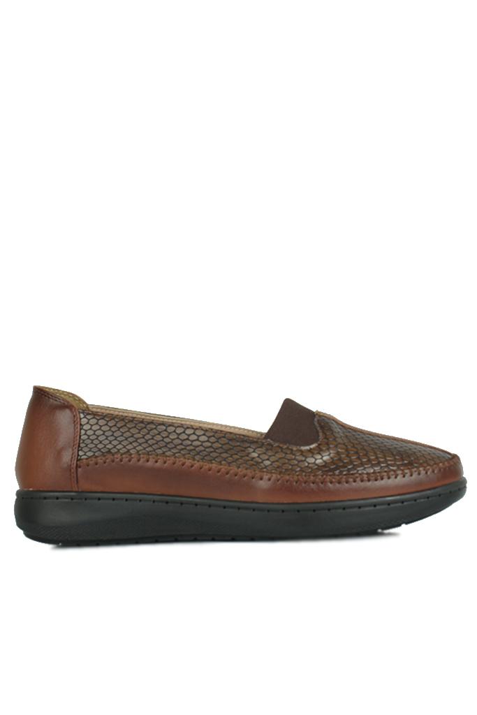 Fitbas 155032 167 Kadın Taba Günlük Büyük Numara Ayakkabı