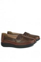 Fitbas 155032 167 Kadın Taba Günlük Büyük Numara Ayakkabı - Thumbnail