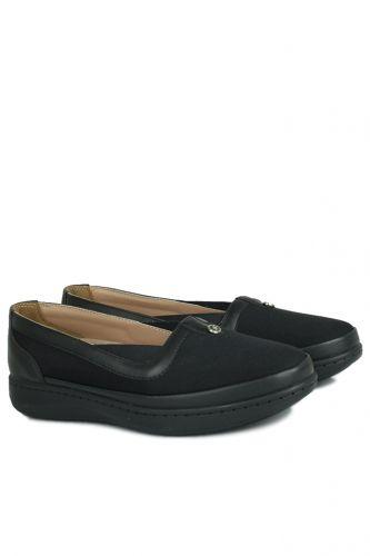 Fitbas - Fitbas 155039 014 Kadın Siyah Günlük Büyük Numara Ayakkabı (1)