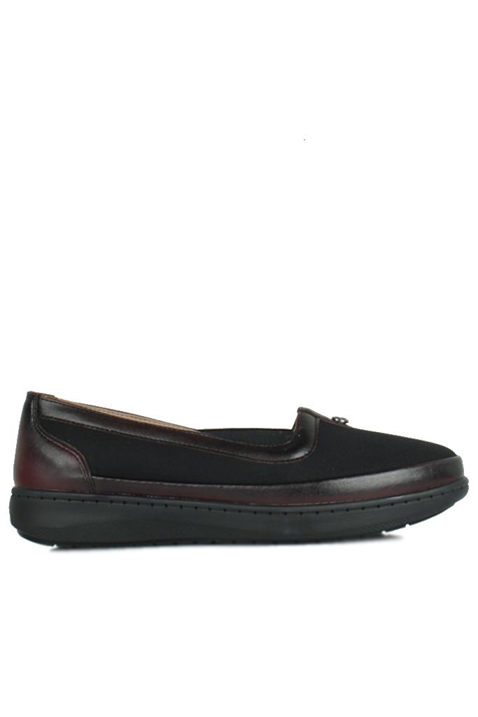 Fitbas 155039 064 Kadın Siyah Günlük Büyük Numara Ayakkabı