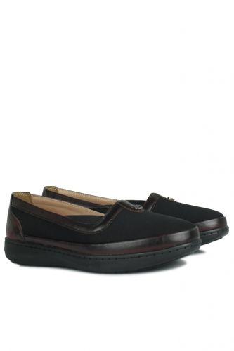 Fitbas - Fitbas 155039 064 Kadın Siyah Günlük Büyük Numara Ayakkabı (1)
