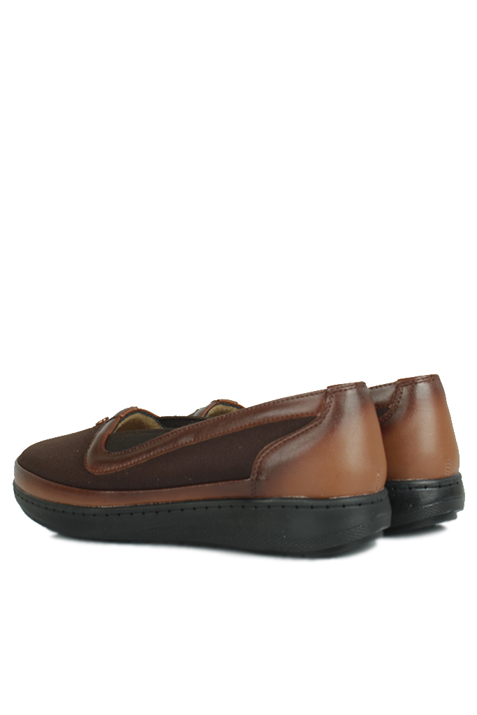 Fitbas 155039 232 Kadın Kahve Günlük Büyük Numara Ayakkabı