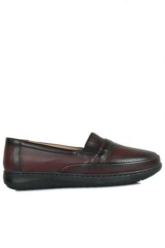 Fitbas 155041 624 Kadın Bordo Günlük Büyük Numara Ayakkabı