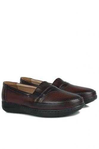 Fitbas - Fitbas 155041 624 Kadın Bordo Günlük Büyük Numara Ayakkabı (1)