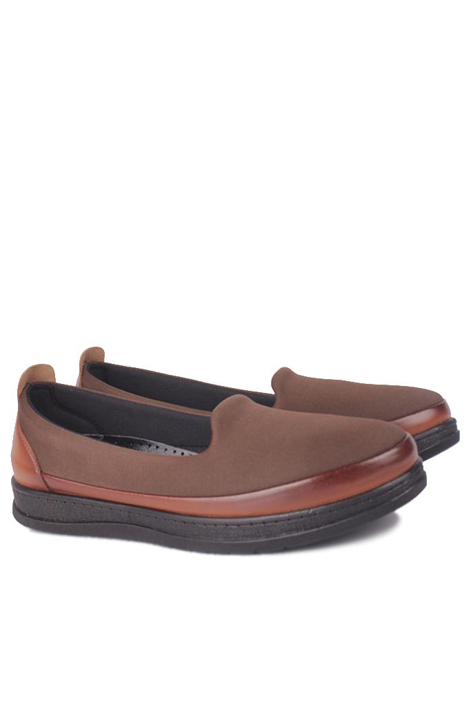 Fitbas 155058 164 Kadın Taba Günlük Büyük Numara Ayakkabı