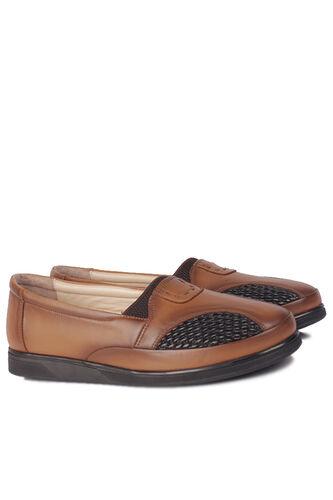Fitbas - Fitbas 155102 167 Kadın Taba Hakki Deri Günlük Büyük Numara Ayakkabı (1)