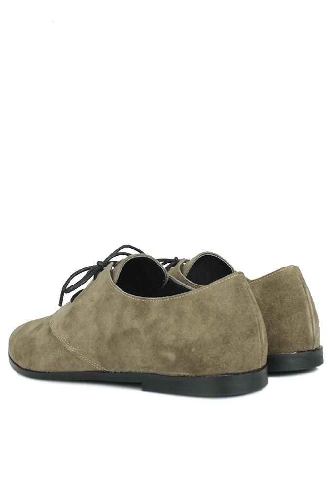 Fitbas 231042 677 Kadın Haki Süet Büyük & Küçük Numara Ayakkabı