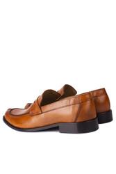 Erkan Kaban 332 162 Erkek Taba Deri Klasik Büyük & Küçük Numara Ayakkabı - Thumbnail