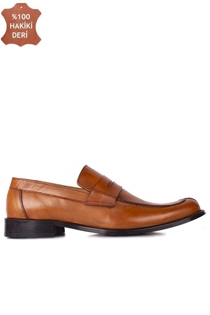 Erkan Kaban 332 162 Erkek Taba Deri Klasik Büyük & Küçük Numara Ayakkabı