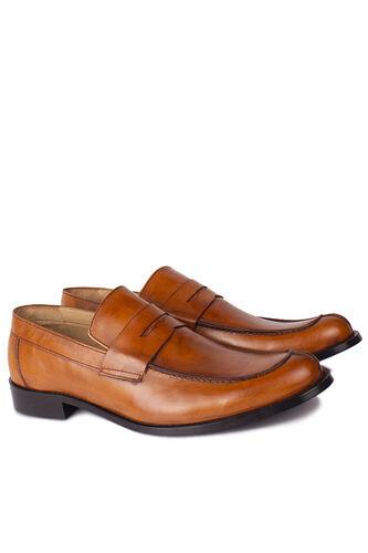Fitbas - Fitbas 332 162 Erkek Taba Deri Klasik Büyük & Küçük Numara Ayakkabı (1)
