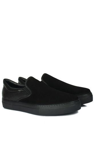 Fitbas - Fitbas 385003 025 Siyah Süet Siyah Matt Erkek Büyük Numara Ayakkabı (1)