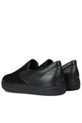 Fitbas 385003 025 Siyah Süet Siyah Matt Erkek Büyük Numara Ayakkabı - Thumbnail