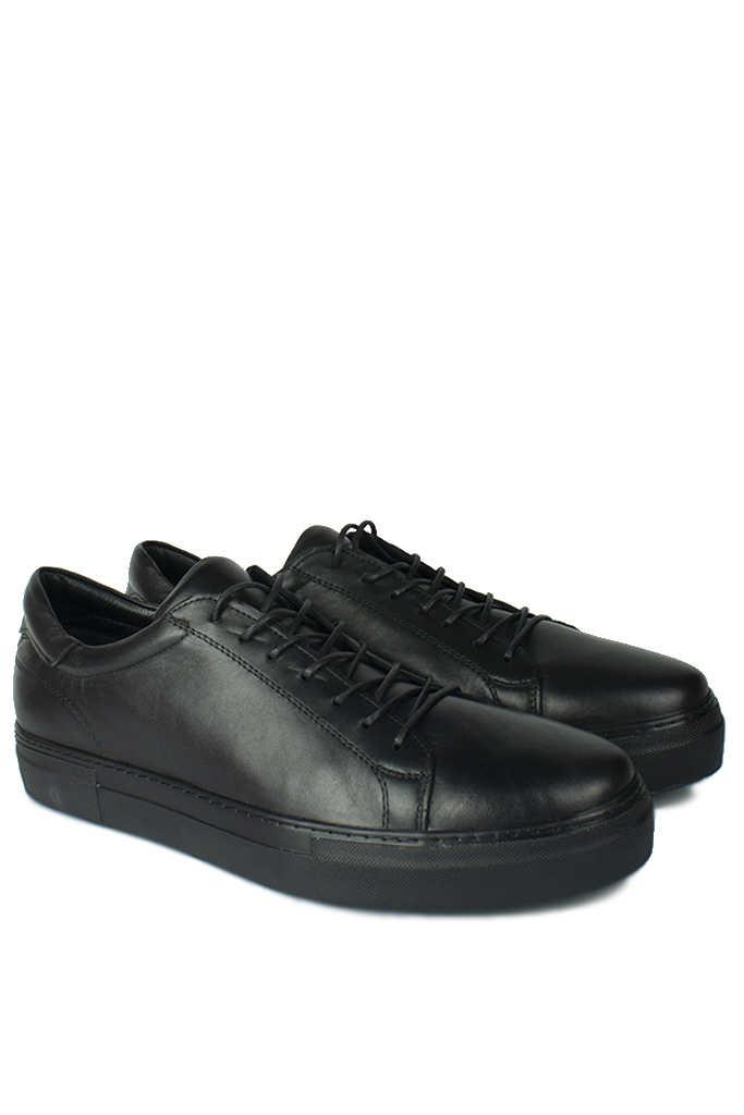 Erkan Kaban 385002 014 Siyah Matt Erkek Büyük Numara Ayakkabı