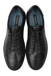Erkan Kaban 385002 014 Siyah Matt Erkek Büyük Numara Ayakkabı - Thumbnail