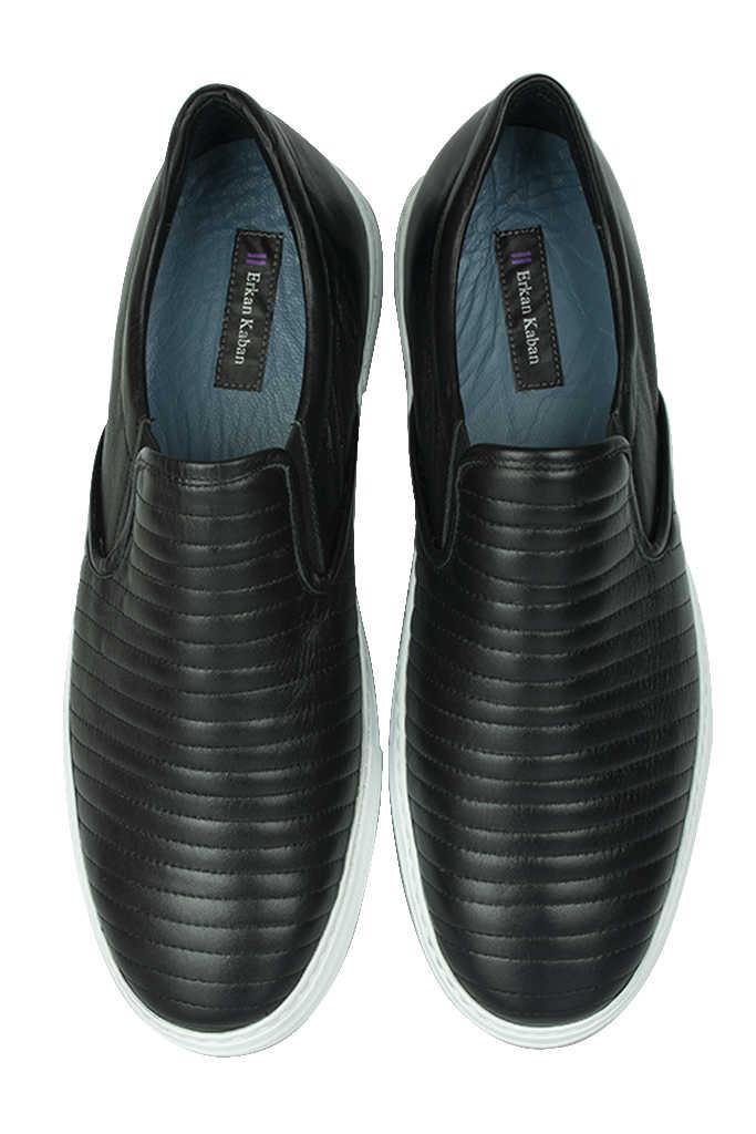 Erkan Kaban 385006 013 Siyah Matt Erkek Büyük Numara Ayakkabı