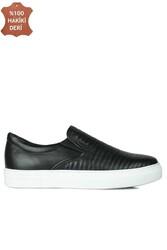 Erkan Kaban 385006 013 Siyah Matt Erkek Büyük Numara Ayakkabı - Thumbnail
