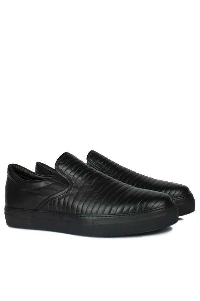 Erkan Kaban 385006 014 Siyah Erkek Büyük Numara Ayakkabı
