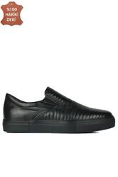 Erkan Kaban 385006 014 Siyah Erkek Büyük Numara Ayakkabı - Thumbnail