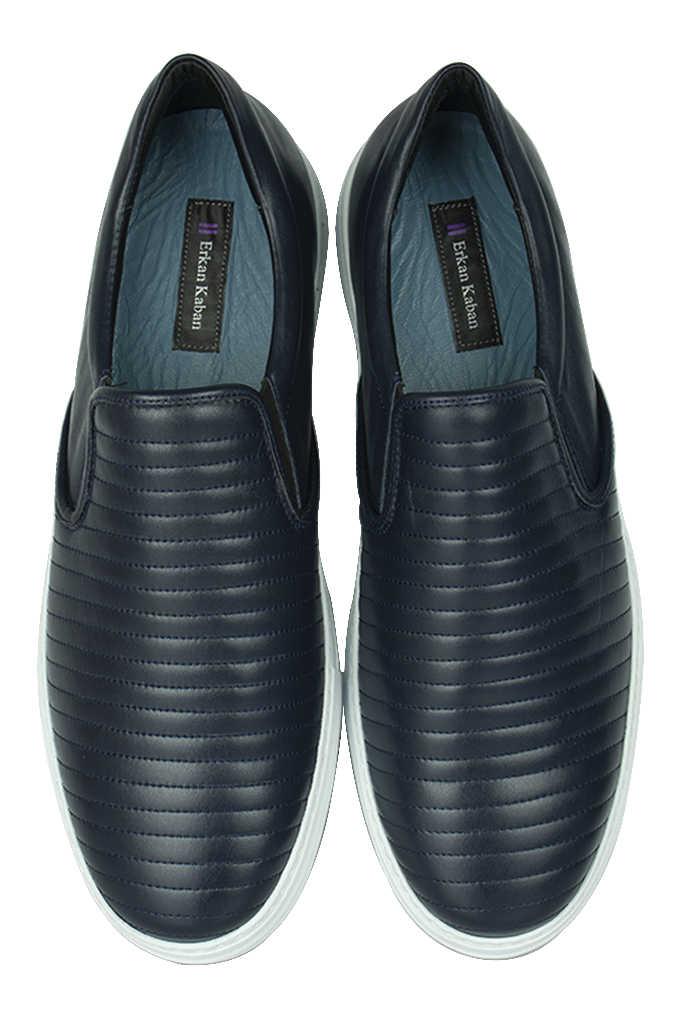 Erkan Kaban 385006 424 Lacivert Matt Erkek Büyük Numara Ayakkabı