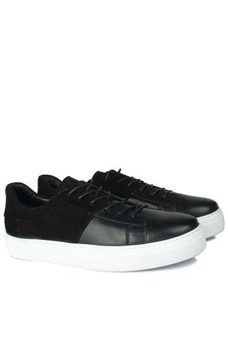Erkan Kaban - Erkan Kaban 385004 015 Black Suede Ciyah Matt Men Shoes (1)