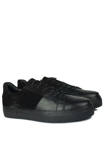 Fitbas - Fitbas 385004 025 Siyah Matt - Siyah Nubuk Erkek Büyük Numara Ayakkabı (1)