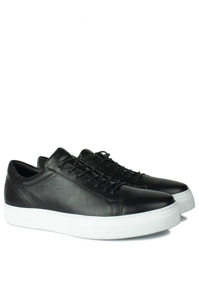 Erkan Kaban 385002 013 Siyah Matt Erkek Büyük Numara Ayakkabı