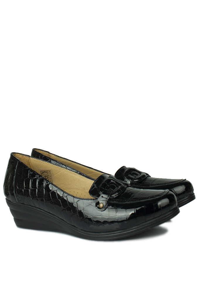 Fitbas 4422 024 Kadın Siyah Günlük Büyük & Küçük Numara Ayakkabı