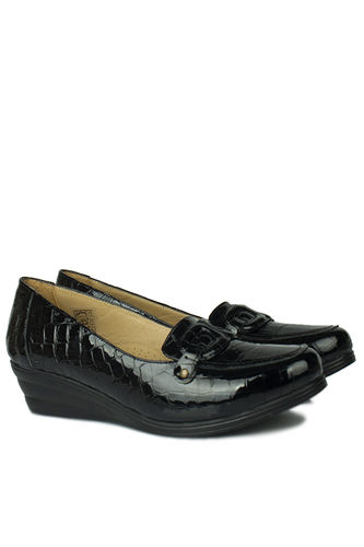 Fitbas - Fitbas 4422 024 Kadın Siyah Günlük Büyük & Küçük Numara Ayakkabı (1)