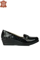 Fitbas 4422 024 Kadın Siyah Günlük Büyük & Küçük Numara Ayakkabı - Thumbnail
