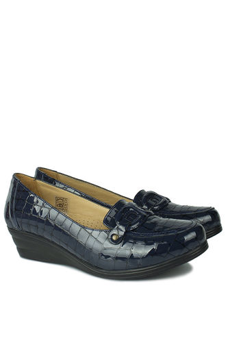 Fitbas - Erkan Kaban 4422 425 Women Navy Blue Casual Shoes (1)