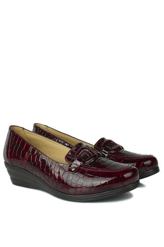 Fitbas - Erkan Kaban 4422 625 Women Claret Red Casual Shoes (1)