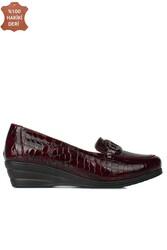 Fitbas 4422 625 Kadın Bordo Günlük Büyük & Küçük Numara Ayakkabı - Thumbnail
