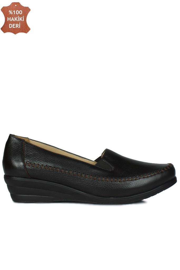 Fitbas 4800 232 Kadın Kahve Günlük Büyük & Küçük Numara Ayakkabı