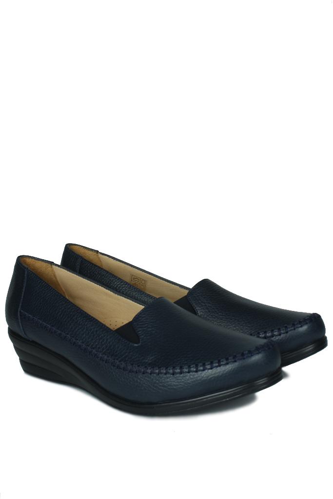 Erkan Kaban 4800 424 Kadın Lacivert Günlük Büyük & Küçük Numara Ayakkabı