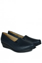 Erkan Kaban 4800 424 Kadın Lacivert Günlük Büyük & Küçük Numara Ayakkabı - Thumbnail