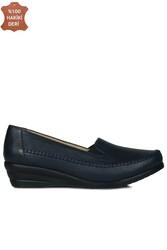 Fitbas 4800 424 Kadın Lacivert Günlük Büyük & Küçük Numara Ayakkabı - Thumbnail