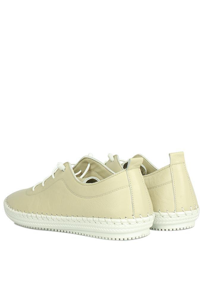 Erkan Kaban 625041 324 Kadın Ten Deri Günlük Ayakkabı