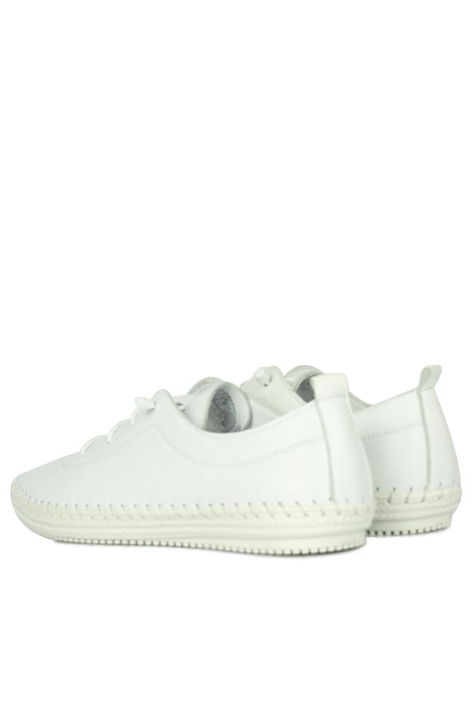 Erkan Kaban 625041 468 Kadın Beyaz Deri Günlük Ayakkabı