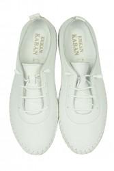Erkan Kaban 625041 468 Kadın Beyaz Deri Günlük Ayakkabı - Thumbnail