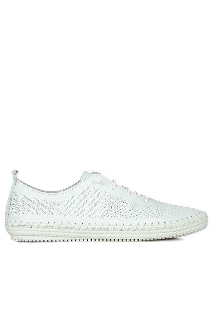 Erkan Kaban 625042 468 Kadın White Deri Günlük Ayakkabı
