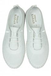 Erkan Kaban 625042 468 Kadın White Deri Günlük Ayakkabı - Thumbnail