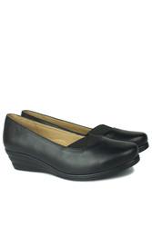 Fitbas 6254 014 Kadın Siyah Günlük Büyük & Küçük Numara Ayakkabı - Thumbnail