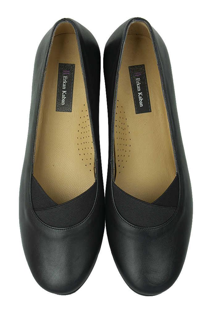Fitbas 6254 014 Kadın Siyah Günlük Büyük & Küçük Numara Ayakkabı