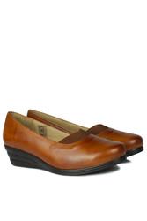 Erkan Kaban 6254 167 Kadın Taba Günlük Büyük & Küçük Numara Ayakkabı - Thumbnail
